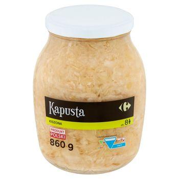 Carrefour Kapusta kiszona 860 g