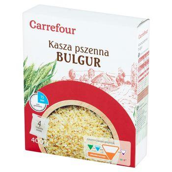 Carrefour Kasza bulgur 400 g (4 x 100 g)