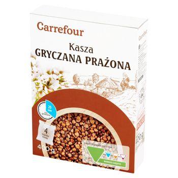 Carrefour Kasza gryczana prażona 400 g (4 x 100 g)