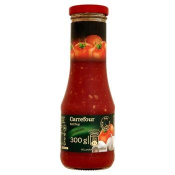 Carrefour Ketchup z czosnkiem 300 g