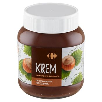 Carrefour Krem orzechowo-kakaowy 400 g
