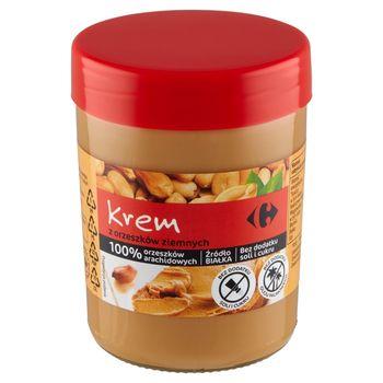 Carrefour Krem z orzeszków ziemnych 450 g