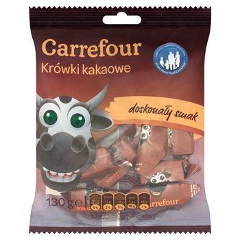 Carrefour Krówki kakaowe 130 g