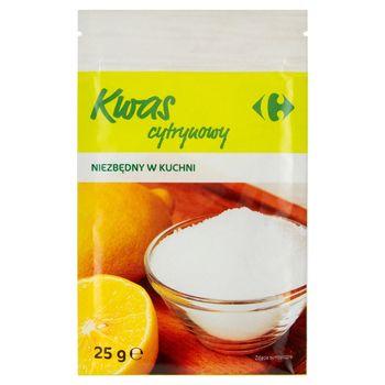 Carrefour Kwas cytrynowy 25 g