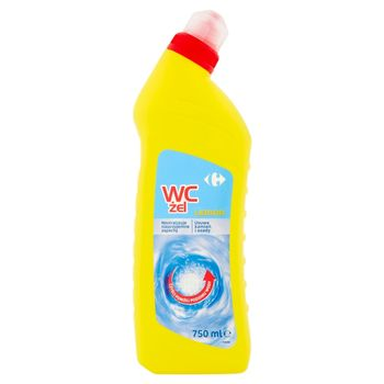 Carrefour Lemon Żel do WC 750 ml