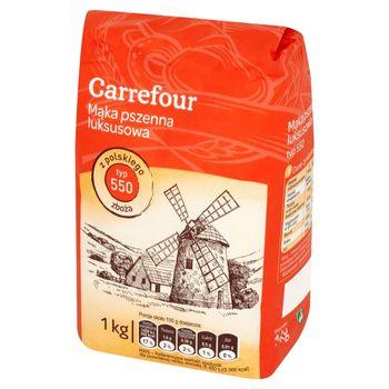 Carrefour Mąka pszenna luksusowa typ 550 1 kg