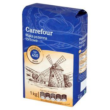 Carrefour Mąka pszenna tortowa typ 450 1 kg