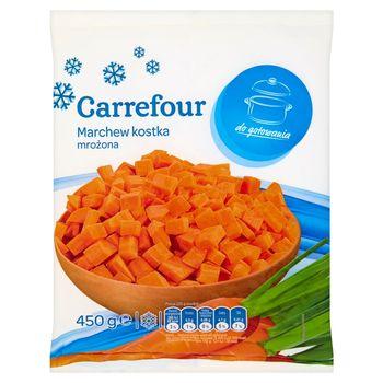 Carrefour Marchew kostka mrożona 450 g