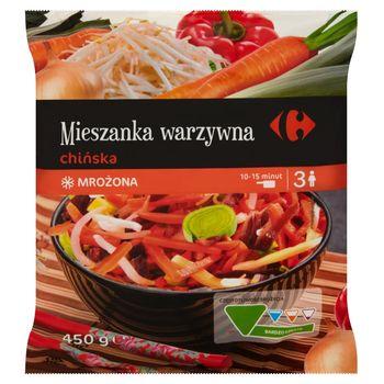 Carrefour Mieszanka warzywna chińska mrożona 450 g