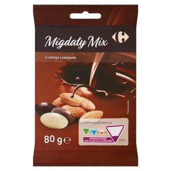 Carrefour Migdały mix 80 g