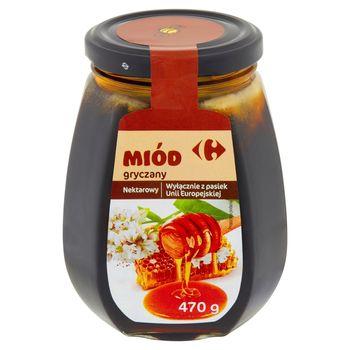 Carrefour Miód nektarowy gryczany 470 g