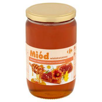 Carrefour Miód wielokwiatowy nektarowy 900 g