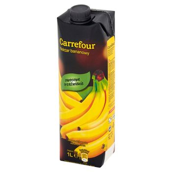 Carrefour Nektar bananowy 1 l