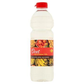 Carrefour Ocet spirytusowy 10% 500 ml