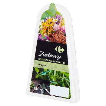 Carrefour Odświeżacz powietrza w żelu ziołowy 150 g