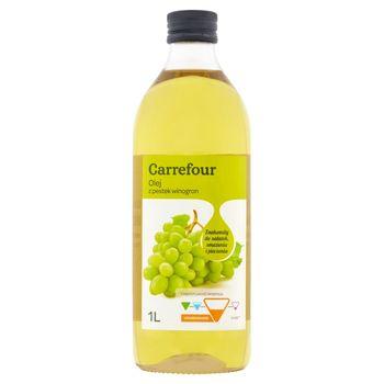 Carrefour Olej z pestek winogron 1 l