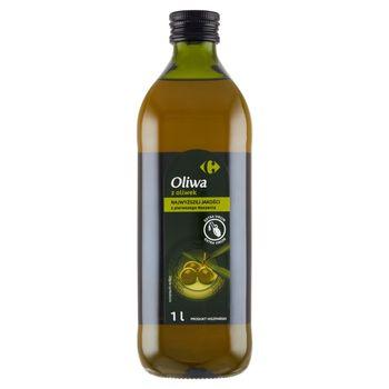 Carrefour Oliwa z oliwek najwyższej jakości z pierwszego tłoczenia 1 l