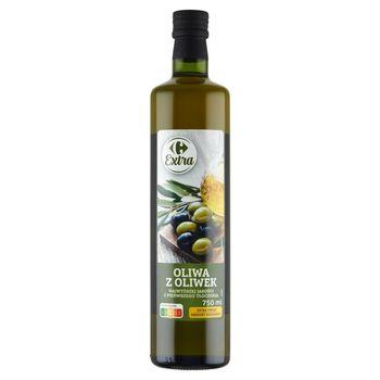 Carrefour Extra Oliwa z oliwek najwyższej jakości z pierwszego tłoczenia 750 ml