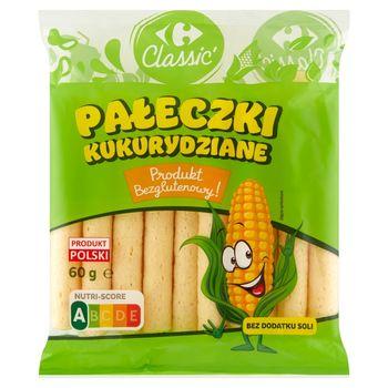 Carrefour Classic Pałeczki kukurydziane 60 g