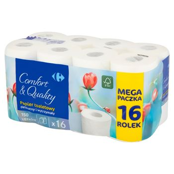 Carrefour Papier toaletowy 16 rolek