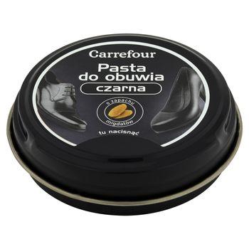 Carrefour Pasta do obuwia czarna 35 g