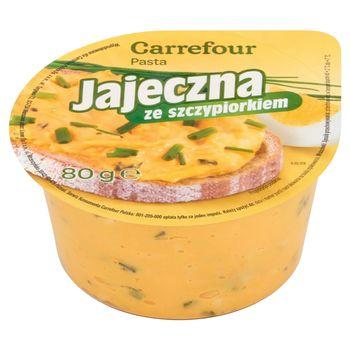 Carrefour Pasta jajeczna ze szczypiorkiem 80 g