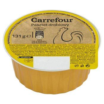 Carrefour Pasztet drobiowy 131 g