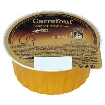 Carrefour Pasztet drobiowy wątrobowy 131 g