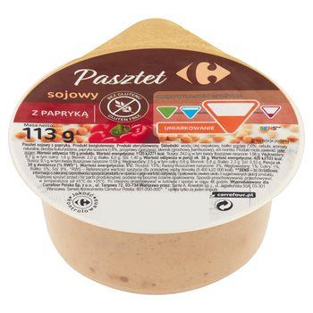 Carrefour Pasztet sojowy z papryką 113 g