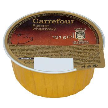 Carrefour Pasztet wieprzowy 131 g