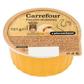 Carrefour Pasztet z pieczarkami 131 g