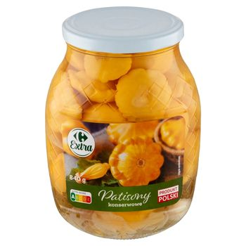 Carrefour Extra Patisony konserwowe 840 g