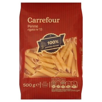 Carrefour Penne rigate nr 13 Makaron 500 g