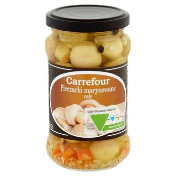 Carrefour Pieczarki marynowane całe 280 g
