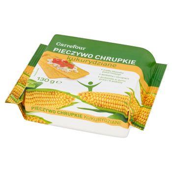 Carrefour Pieczywo chrupkie kukurydziane 130 g
