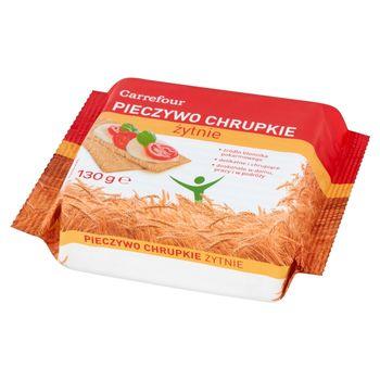 Carrefour Pieczywo chrupkie żytnie 130 g