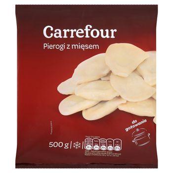 Carrefour Pierogi z mięsem 500 g