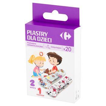 Carrefour Plastry dla dzieci 20 sztuk