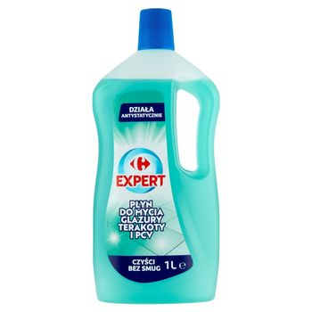 Carrefour Expert Płyn do mycia glazury terakoty i PCV 1 l