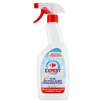 Carrefour Expert Płyn do mycia kabin prysznicowych 700 ml