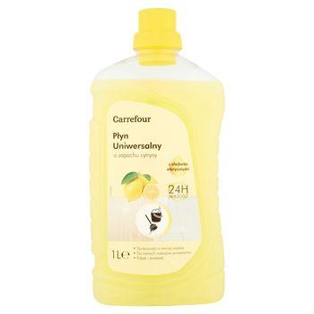 Carrefour Płyn uniwersalny o zapachu cytryny 1 l