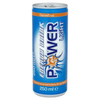 Carrefour Power Light Napój gazowany 250 ml