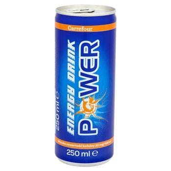 Carrefour Power Napój energetyzujący 250 ml