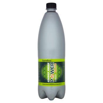 Carrefour Power Napój energetyzujący gazowany o smaku mojito 1 l