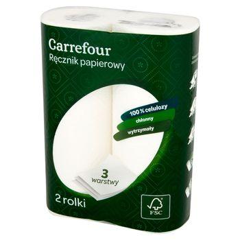 Carrefour Ręcznik papierowy 2 rolki