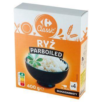 Carrefour Classic Ryż parboiled długoziarnisty 400 g