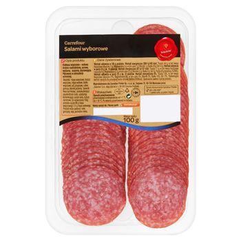Carrefour Salami wyborowe 100 g