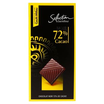 Carrefour Selection 72% Cacao Czekolada 80 g