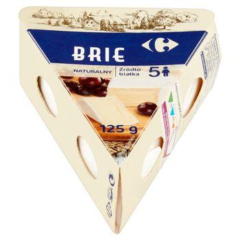 Carrefour Ser Brie naturalny 125 g