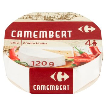 Carrefour Ser Camembert chili 120 g